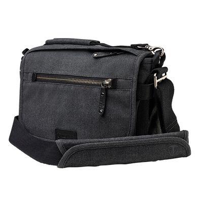 Für weitere Info hier klicken. Artikel: Tenba Tasche Cooper 8 Camera Bag Grey Canvas - Black Leather