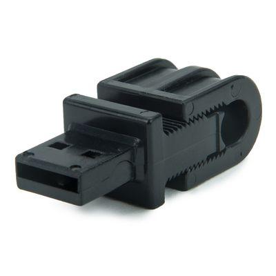 Für weitere Info hier klicken. Artikel: Tether Tools JerkStopper USB Mount Kabelhalter als Zugentlastung für Computerkabel wie USB-Kabel, Netzwerkkabel, HDMI-Kabel etc.