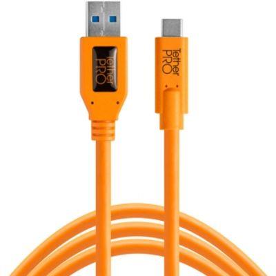 Für weitere Info hier klicken. Artikel: Tether Tools TetherPro USB-Datenkabel für USB 3.0 an USB-C - 4,6 Meter Länge, gerader Stecker orange