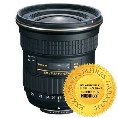 Für weitere Info hier klicken. Artikel: Tokina AF 4/17-35 AT-X Pro FX Canon EF