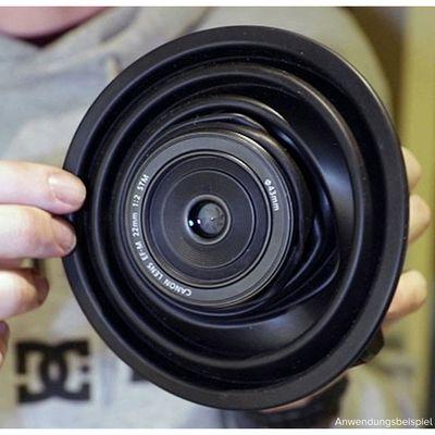 Für weitere Info hier klicken. Artikel: Ultimate Lens Hood Spezial-Gegenlichtblende für Objektive bis 60 mm Durchmesser