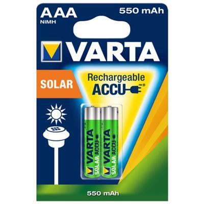 Für weitere Info hier klicken. Artikel: Varta Akku 56733 SOLAR Accu Micro 2er