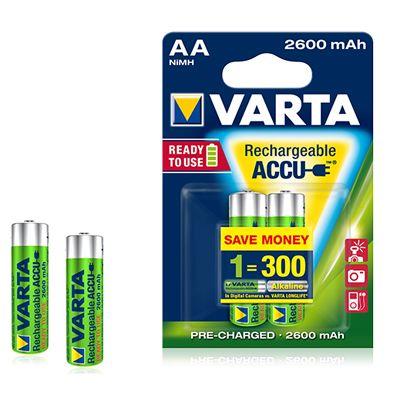 Für weitere Info hier klicken. Artikel: Varta Akku Prof. AA 2600mAh 4er-Pack