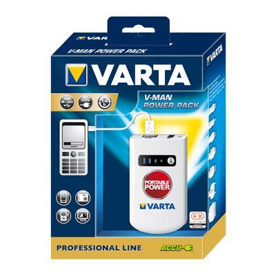 Für weitere Info hier klicken. Artikel: Varta Lader Professional V-Man Power Pack