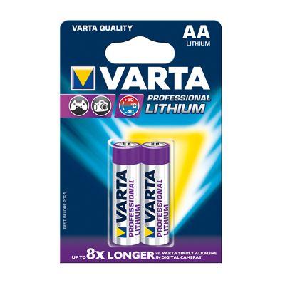 Für weitere Info hier klicken. Artikel: Varta Professional Lithium AA Mignon 2er-Pack