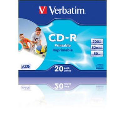 Für weitere Info hier klicken. Artikel: Verbatim CD-R White Printable 20x