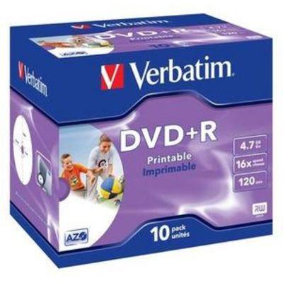 Für weitere Info hier klicken. Artikel: Verbatim DVD+R 16x Wide printable 10x