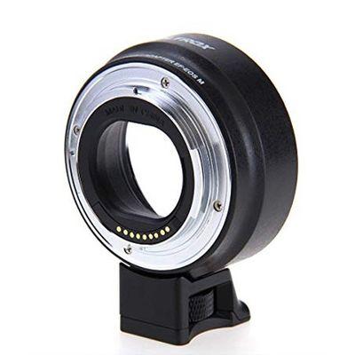 Für weitere Info hier klicken. Artikel: Viltrox Objektivadapter Autofokus EF EOS M Canon EF Canon EF-M