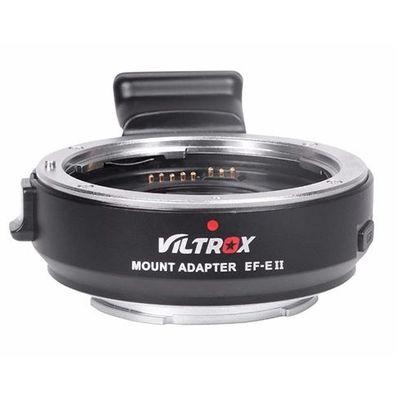 Für weitere Info hier klicken. Artikel: Viltrox Objektivadapter Autofokus Speed Booster EF-E II Canon EF Sony FE-Mount