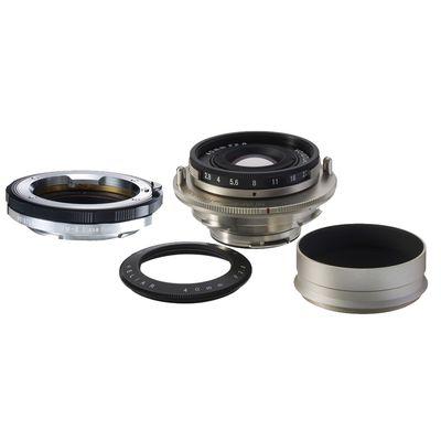 Für weitere Info hier klicken. Artikel: Voigtländer Heliar 40mm f/2,8 Nickel Set incl. Systemadapter VM-E Nah+ Sony FE-Mount