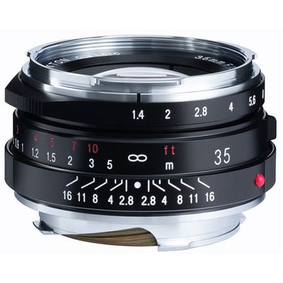 Für weitere Info hier klicken. Artikel: Voigtländer Nokton 1,4/35 mm M.C. VM II schwarz Leica M
