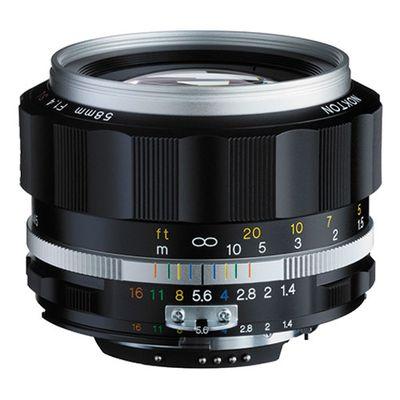 Für weitere Info hier klicken. Artikel: Voigtländer Nokton 1,4/58 mm SLII-S (CPU) silber Nikon FX