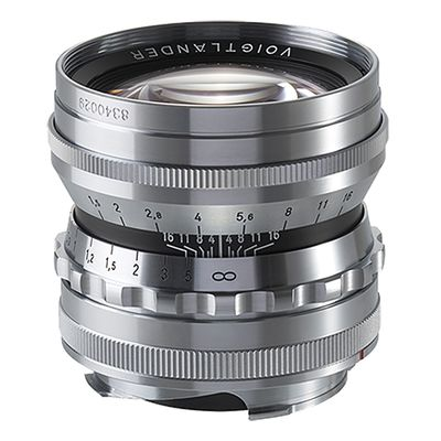 Für weitere Info hier klicken. Artikel: Voigtländer Nokton 50mm f/1,5 asph. silber Leica M
