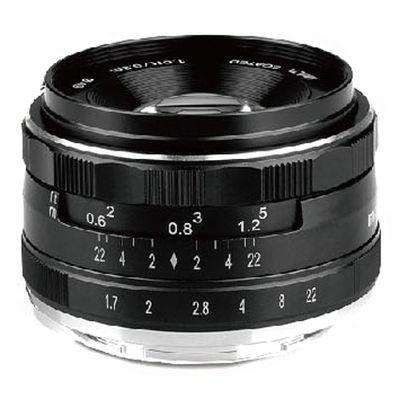 Für weitere Info hier klicken. Artikel: Voking Objektiv APS-C 35mm F1.7 manueller Focus 49mm Micro Four Thirds