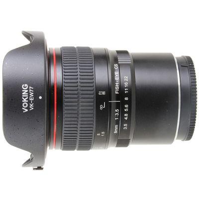 Für weitere Info hier klicken. Artikel: Voking Objektiv Fish-Eye 8mm F3.5 manueller Focus Canon EF-M