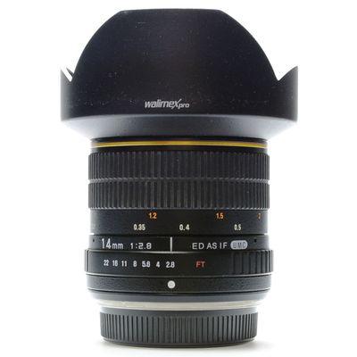 Für weitere Info hier klicken. Artikel: Walimex pro 2,8/14mm ED AS IF -Second Hand- Olympus FT