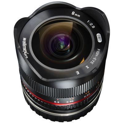 Für weitere Info hier klicken. Artikel: Walimex pro 8mm f/2,8 Fisheye II APS-C schwarz Sony E-Mount