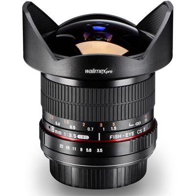 Für weitere Info hier klicken. Artikel: Walimex pro Fish-Eye MF 3,5/8 II Canon EF