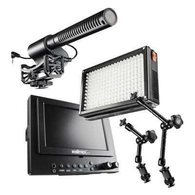 Für weitere Info hier klicken. Artikel: Walimex pro Video Zubehör Set Semi-Pro