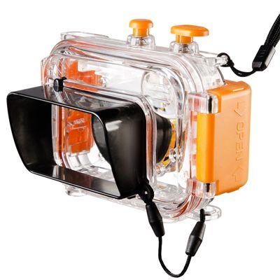 Für weitere Info hier klicken. Artikel: Walimex Unterwassergehäuse 40m orange