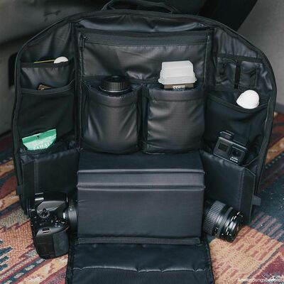 Für weitere Info hier klicken. Artikel: Wandrd DUO Daypack Rucksack schwarz