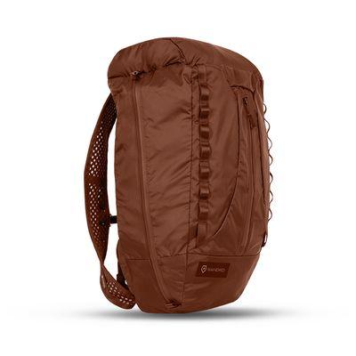 Für weitere Info hier klicken. Artikel: Wandrd Faltrucksack VEER Rust 18 L mit aufblasbarem Rückenpolster + Camera Cube rust