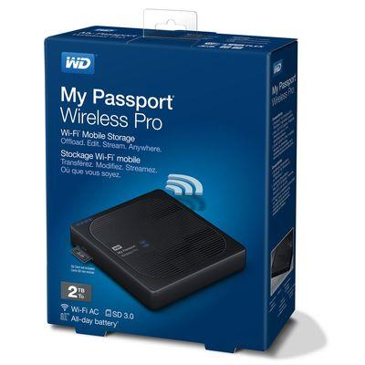 Für weitere Info hier klicken. Artikel: Western Digital My Passport WiFi Wireless Pro, externe Festplatte 2 TB