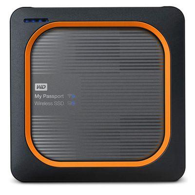 Für weitere Info hier klicken. Artikel: Western Digital WD My Passport Wireless SSD gray externe Festplatte 500 GB