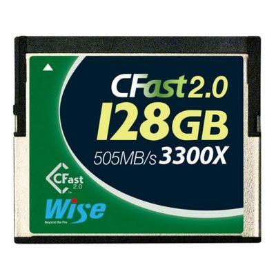 Für weitere Info hier klicken. Artikel: Wise CFast-Karte 2.0, 3300x write 210MB/s, read 505MB/s 128 GB
