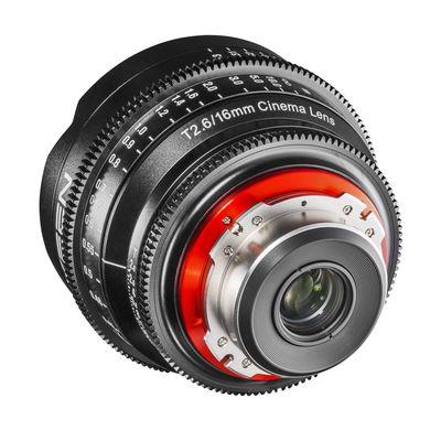 Für weitere Info hier klicken. Artikel: XEEN Cinema 16mm f/2,6 Vollformat PL Mount