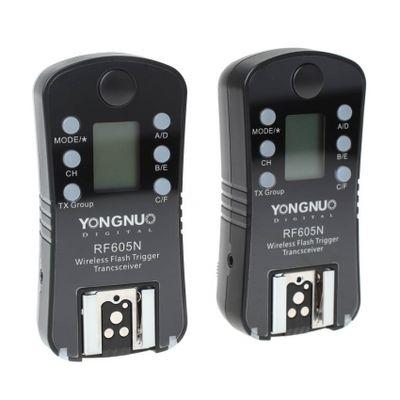 Für weitere Info hier klicken. Artikel: Yongnuo RF-605 Canon Blitz- und Funkauslöser mit 100m Reichweite