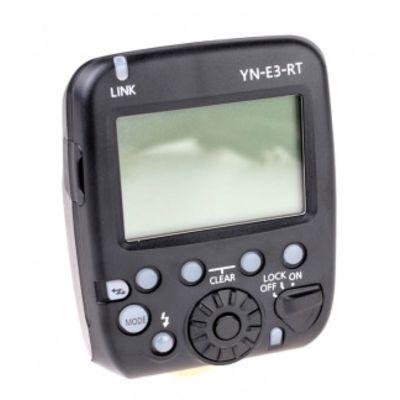 Für weitere Info hier klicken. Artikel: Yongnuo Speedlite Transmitter YN-E3-RT Blitz- und Funkauslöser für Canon 600EX-RT, YN600EX-RT