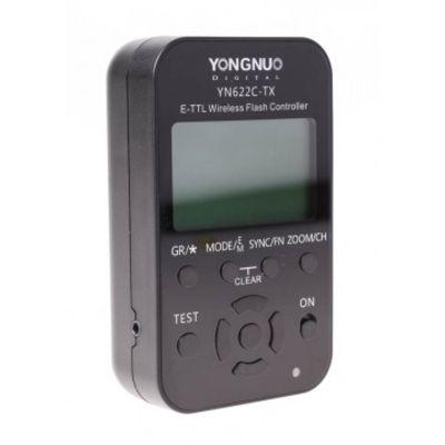 Für weitere Info hier klicken. Artikel: Yongnuo Steuereinheit YN-622C-TX Canon E-TTl Blitz- und Funkauslöser für YN-622C