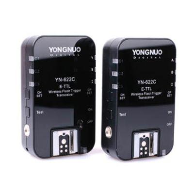 Für weitere Info hier klicken. Artikel: Yongnuo YN622C II E-TTL Funk-Blitzauslöser für Canon mit SCS HSS und Gruppensteuerung