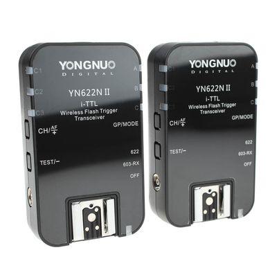 Für weitere Info hier klicken. Artikel: Yongnuo YN622N II 100m i-TTL Funk-Blitzauslöser für Nikon mit SCS, HSS und Gruppensteuerung