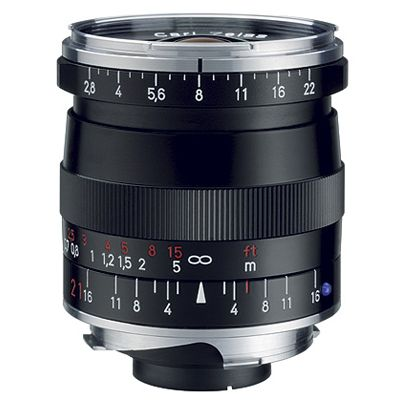 Für weitere Info hier klicken. Artikel: Zeiss Biogon T* 21mm f/2,8 ZM schwarz Leica M