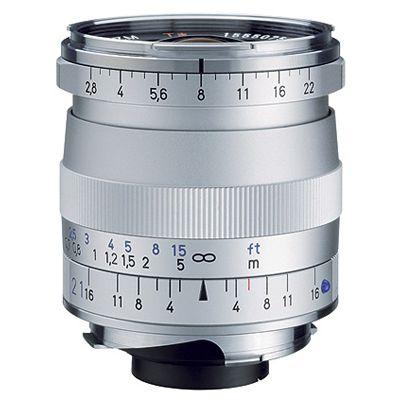 Für weitere Info hier klicken. Artikel: Zeiss Biogon T* 2,8/21 ZM silber Leica M
