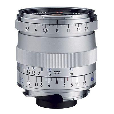 Für weitere Info hier klicken. Artikel: Zeiss Biogon T* 2,8/25 ZM silber Leica M