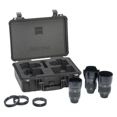 Für weitere Info hier klicken. Artikel: Zeiss Otus 28mm f/1,4, Otus 55mm f/1,4, Otus 85mm f/1,4 ZF.2 + Otus Transport Case Nikon FX