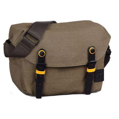 Für weitere Info hier klicken. Artikel: ZKIN Tasche Getaway Cetus Leder und spritzwasserfestes Nylon moosgrün