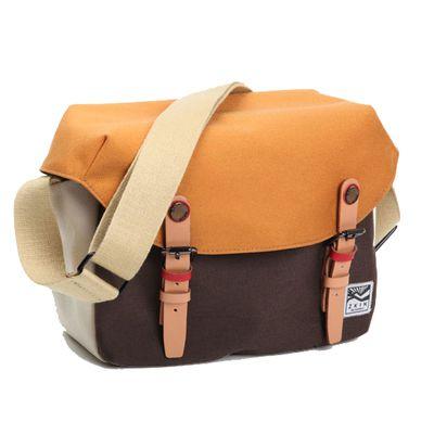Für weitere Info hier klicken. Artikel: ZKIN Tasche Getaway Cetus Leder und spritzwasserfestes Nylon orange-braun