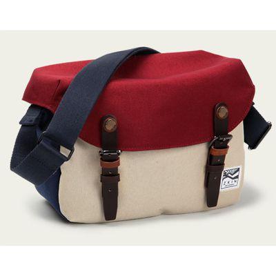 Für weitere Info hier klicken. Artikel: ZKIN Tasche Getaway Cetus Leder und spritzwasserfestes Nylon burgund-beige