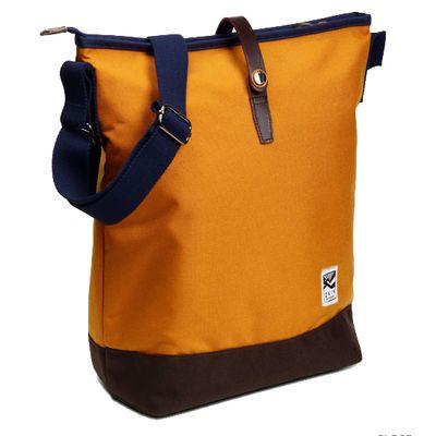 Für weitere Info hier klicken. Artikel: ZKIN Tasche Getaway Obia Leder und spritzwasserfestes Nylon orange-braun