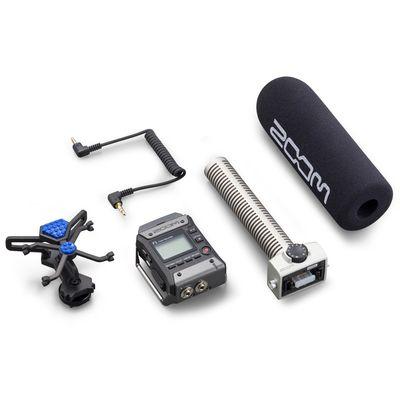 Für weitere Info hier klicken. Artikel: Zoom F1 Field Audio Recorder inkl. SGH-6 Shotgun Mikrofon
