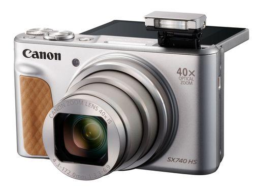 Für weitere Info hier klicken. Artikel: Canon PowerShot SX740 HS Travel Kit silber