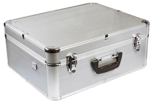 d rr aluminium koffer silver 50 485050. Black Bedroom Furniture Sets. Home Design Ideas