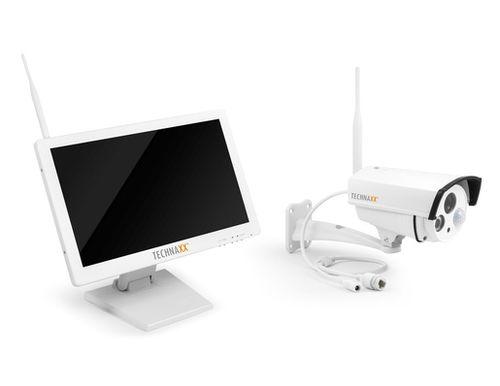 technaxx berwachungskamera tx 30 premium security camera set mit 18 5 monitor 4642. Black Bedroom Furniture Sets. Home Design Ideas