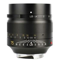 Für weitere Info hier klicken. Artikel: 7Artisans 75mm f/1,25 Leica M