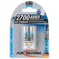 Ansmann Akku NiMH 1.2V AA2700 BL2