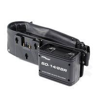 Für weitere Info hier klicken. Artikel: Anton Bauer SO-14/28R Dual voltage snap-on battery belt.